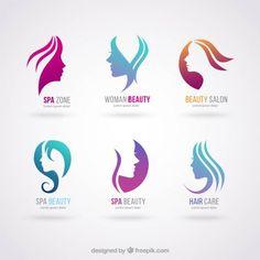 logotipos salo de beleza beauty salon logobeauty - Nail Salon Logo Design Ideas