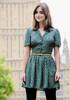 my favorites - Jenna Louise Coleman - at the Deep Breath Photocall in London 22.08.14