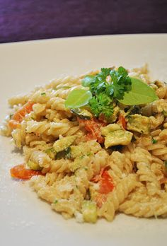 Küchenzaubereien: Spirelli mit Gemüse-Kräuter-Soße