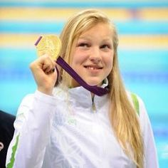 15 year old Ruta Meilutyte surprised the world by winning gold in the 100m breaststroke on July 30, 2012. She is Lithuanian and trains in Great Britain.