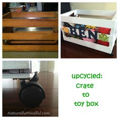 DIY: Create to Toy Box | Naturally Mindful