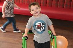 Sometimes makes me cry Hello my name is Thomas, I am three years old and have cerebral palsy (spastic diplegia). This means that my muscles and tendons are always tight and very painful. I have to do daily excercises and stretches which is also very painful and sometimes makes me cry. http://www.treeofhope.org.uk/sometimes-makes-me-cry/