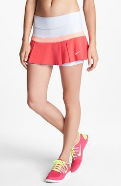 Nike Pleated Woven Tennis Skirt available at #Nordstrom