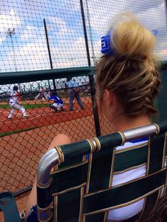 Softball hairstyles softball hair