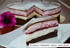 Egy díjnyertes recept: Ilyen tortát nem kapsz a cukrászdákban! Summer Desserts, Sweet Desserts, Sweet Recipes, Chocolate Yogurt Cake, Chocolate Recipes, Raspberry Chocolate, Dessert Drinks, Dessert Recipes, Hungarian Desserts