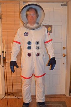 DIY astronaut costume DIY Halloween
