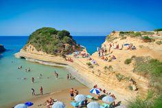 Corfu Beach, Greece www.captaintheocorfu.net Cruises Services