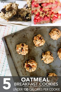 5 Oatmeal Breakfast Cookies Under 130 Calories Per Cookie ‹ Hello Healthy