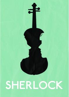 Figure and Ground art /// Previous pinner said: Gestalt Sherlock poster. Web Design, Design Art, Logo Design, Sherlock Poster, Sherlock Holmes, Negative Space Art, Visual Metaphor, Commercial Art, Elements Of Design