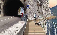 In Italia apre la pista ciclabile più spettacolare d'Europa