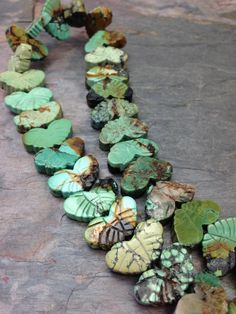 ❥ Natural #Turquoise #Butterfly #Gemstone #Beads