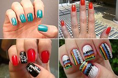 Nice ideas for the nails.
