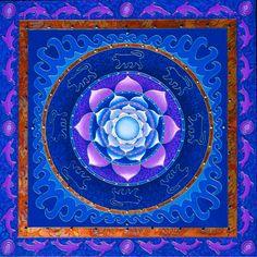 Lotus Mandala by Paul Heussenstamm