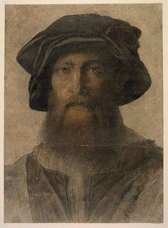 Timoteo Viti (Attributed to); Self-portrait of Timoteo Viti. British Museum by bblacha:renzodionigi on Flickr.