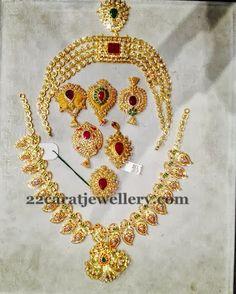 Pendant Sets Below 18 Grams | Jewellery Designs