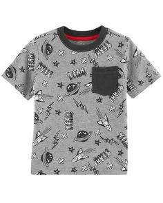 Space Pocket Tee