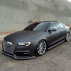 "Cars▫Watches▫Luxury on Instagram: ""Matte Grey Audi S5! One of the coolest S5 I've seen! What do you think of it? ------ Photo by @audis5fx"""