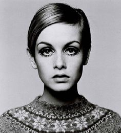 Innovative photographer Richard Avedon. Twiggy - Lesley Hornby