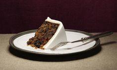 A classic recipe for a fruity and slightly boozy Christmas cake