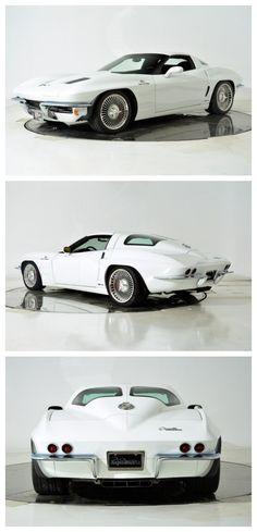 Stunning! One in a million Chevy Corvette Z06 Karl Kustom Lingenfelter #MuslecarMonday