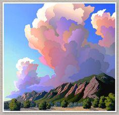 "Doug West ~ Flatirons Mountains, Boulder, Colorado ~ Miks' Pics ""Artsy Fartsy lV"" board @ http://www.pinterest.com/msmgish/artsy-fartsy-lv/"