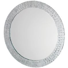 Croydex Meadley Circular Mirror With Mosaic Surround (350 BRL) ❤ liked on Polyvore featuring home, home decor, mirrors, round mirror, circular mirrors, round mosaic mirror, mosaic home decor and mosaic mirror