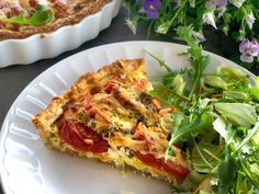 – Francisco's Beautiful World – Oppskrifters Quiche, Tapas, Food To Make, Nom Nom, Delish, Food Porn, Food And Drink, Low Carb, Cooking Recipes