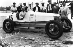 Indy 500 winner 1926: Frank Lockhart  Starting Position: 20  Race Time: 4:10:14.950  Chassis/engine: Miller/Miller