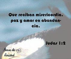 Frases de amor cristianas de Judas 1:2