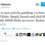 Use iFaith 1.5.8 to Get and Save iOS 7 beta 1 SHSH blobs Ios 7, How To Get, Iphone