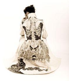 Amazing skeleton coat!