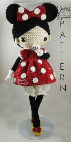 Minnie and Mickey Amigurumi Dolls Crochet Patterns