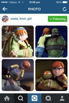 April and the turtles