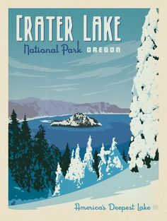 Anderson Design Group – American National Parks – Crater Lake National Park