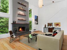 Bright & Cozy Modern Living Room