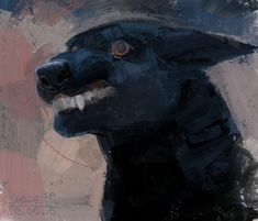 Your smilie is but a respite from the reality of the Black Dog,. Waiting to overcome you, drag you down in the darkness. Chew your meat, spit out your bone, and mar your soul. Kunst Inspo, Art Inspo, Art And Illustration, Fantasy Kunst, Fantasy Art, Dessin Old School, Character Art, Character Design, Arte Obscura