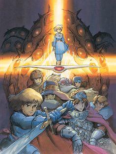 Hayao Miyazaki, Nausicaa movie poster