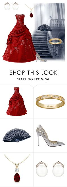 """Ball"" by queen-of-asgard-160 ❤ liked on Polyvore featuring Zuhair Murad and Kataoka"