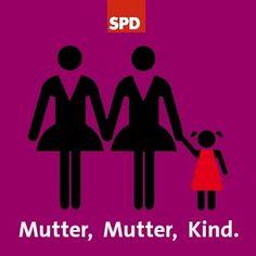 Karlsruhe stärkt das Adoptionsrecht für Homosexuelle. Nach der Bundestagswahl werden wir zusammen mit den Grünen die rückwärtsgewandte Familienpolitik der schwarz-gelben Bundesregierung beenden.  >>http://spd-link.de/sE9K
