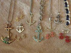 anchor fashion looks like my jewelry box:)