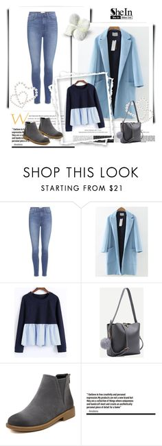"""""""SheIn 9/VII"""" by hedija-okanovic ❤ liked on Polyvore featuring Paige Denim and shein"""