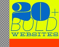 20+ bold website inspiration