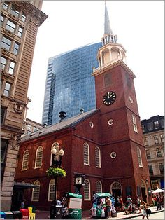 In the 18th century, the Old South Meeting House was central to the American Revolution but also a place of worship for Phillis Wheatley, the slave who became the first black poet published in this country. Abolitionists held up Wheatley as an example of what black people were capable of when given an education. During the Civil War, the meeting house became a recruiting station for Union soldiers.