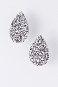Swarovski Crystal Teardrop Earrings on Emma Stine Limited