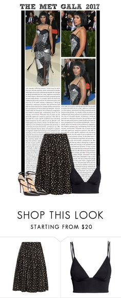 """""""#1603 (Kerry Washington)"""" by lauren1993 ❤ liked on Polyvore featuring Oris, HVN, H&M and Christian Louboutin"""