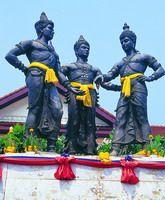 Three Kings Monument, Chiang Mai