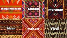 Article: Indigenous Philippine Fabrics Are Making a Comeback - Know our traditional woven fabrics, so you don't accidentally wear a sacred death blanket Filipino Art, Filipino Culture, Filipino Tribal, Philippine Mythology, Philippine Art, Filipino Fashion, Philippines Culture, Tribal Patterns, Textiles