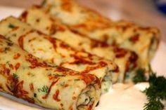 Káprázatos sajtos palacsinta fenségesen finom, szinte elolvad a szádban! - Ketkes.com Vegan Recipes Beginner, Vegan Dinner Recipes, Recipes For Beginners, Cooking Recipes, Healthy Recipes, Pasta Dishes, Food Dishes, Crepes, Cheap Meals