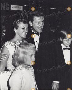Dick Van Dyke with Wife Margorie Willett, daughter Stacy Van Dyke and son Barry Van Dyke, 1964