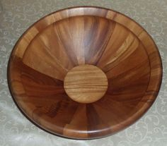 Dansk Wood Classics 16-Inch Round Salad Bowl D816285 in Home & Garden, Kitchen, Dining & Bar, Dinnerware & Serving Dishes | eBay